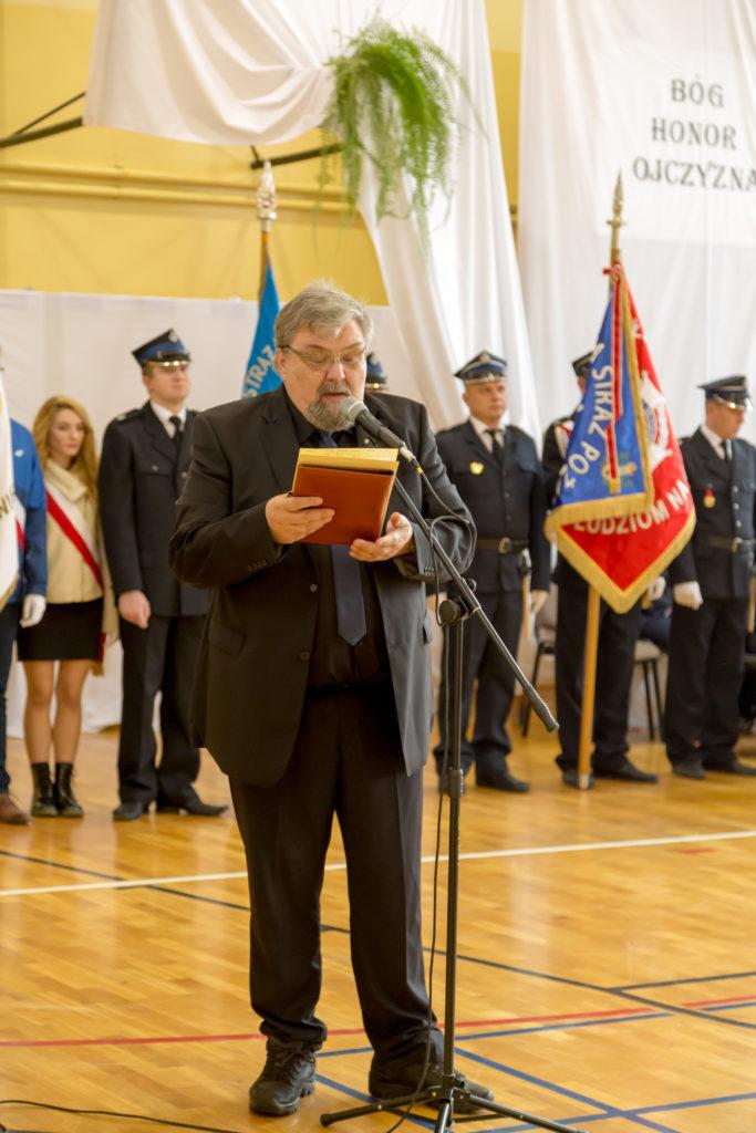 """Referat pod hasłem """"Wolność"""" przedstawił p. Mariusz Choma"""